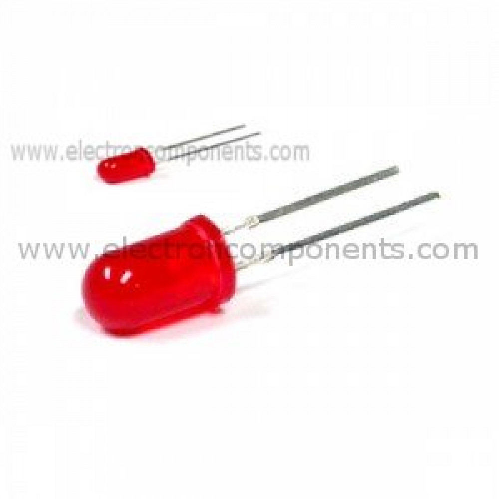 Red 5mm LED Diffused