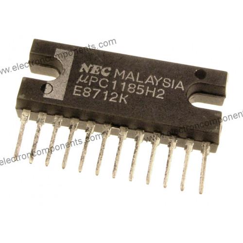 UPC1185 H2 Dual-Channel Audio Power-Output Amplifier (Equ