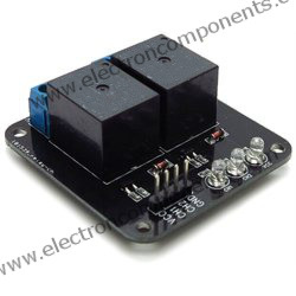 2 Channel Relay Board - 12V