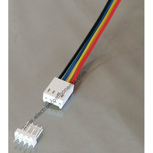 4pin Polarized Header Wire : Relimate Connector : Buy Online ...