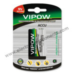 9v Rechargeable Battery 250mAh - Vipow[Original]