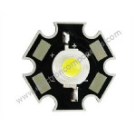 3 Watt LED White [3W] with Heat Sink