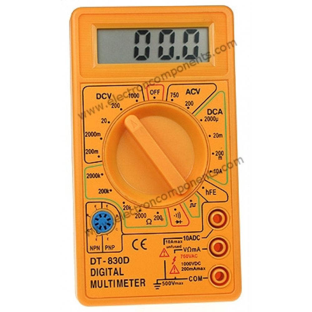Digital Multimeter - DT830D