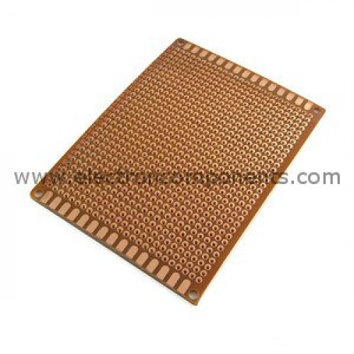 pcb board universal perforated 6x4 buy online electronic rh electroncomponents com LED Circuit Boards Circuit Board Game Project