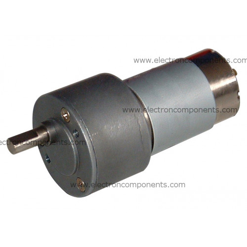 60 rpm metal geared motor high torque upto 7 kg cm for Gear motor 500 rpm