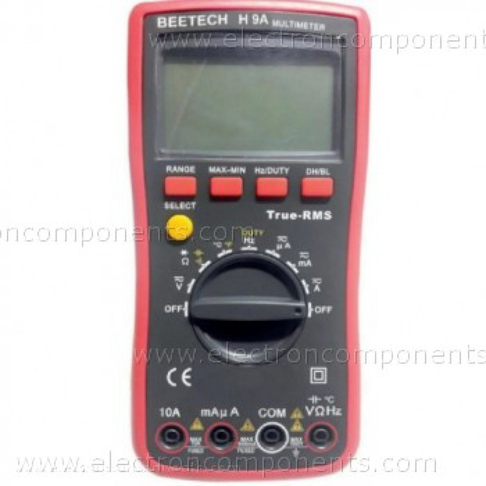Digital Multimeter - H 9A : True RMS Capacitance Amp Freq Temp. (BEETECH) [Original]