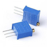 Trimpot 5K Ω (ohm) Variable Resistor (3296 Package)