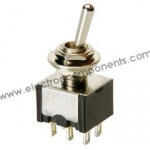 DPDT on-on (2A) Toggle Switch