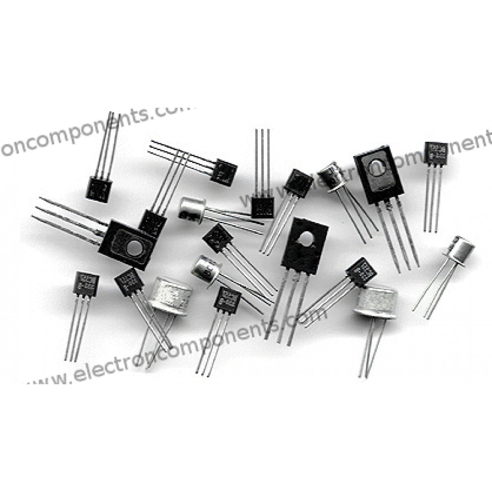 Group of 10 types of Transistors